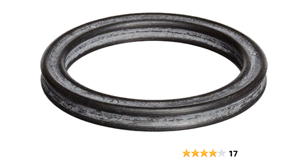 4-3//8 OD Pack of 50 Black 243 Buna-N O-Ring 70A Durometer 4-1//8 ID 1//8 Width