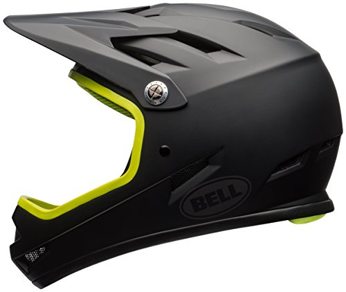 Bell Sanction Bike Helmet - Matte Black/Retina Sear Large - Mongoose Full Face Helmet