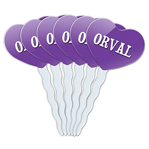 purple-heart-love-set-of-6-cupcake-picks-toppers-decoration-names-male-oa-oz-orval