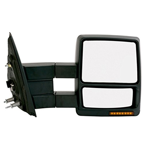 KSource Fit System 61217F Towing Mirror with Turn Signal ...
