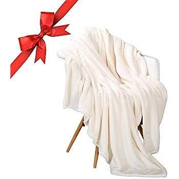 Panku Flannel Fleece Blanket Soft Throw Blanket Super Cozy Lightweight Blanket-Throw(50