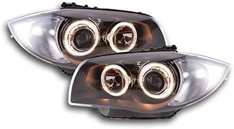 ENERGIZED CUSTOMS BM41L24S Black Angel Eye Halo Headlights