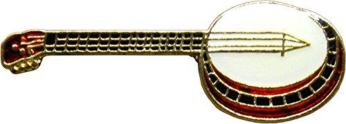 (Banjo Enamel Pin)