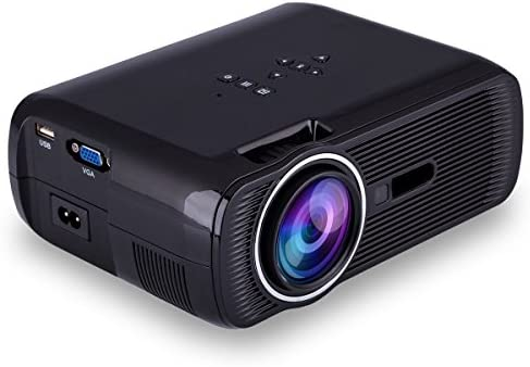 iRULU portátil Mini proyector LED Multimedia con SD AV VGA HDMI ...