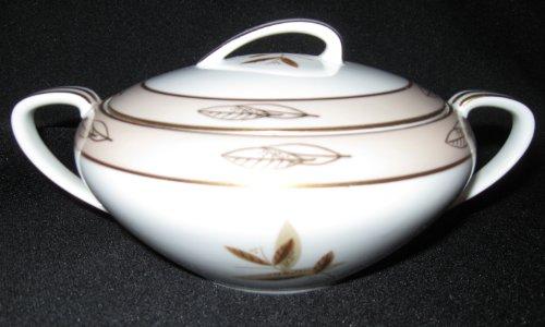 Noritake Fontana #5580 Sugar Bowl with Lid