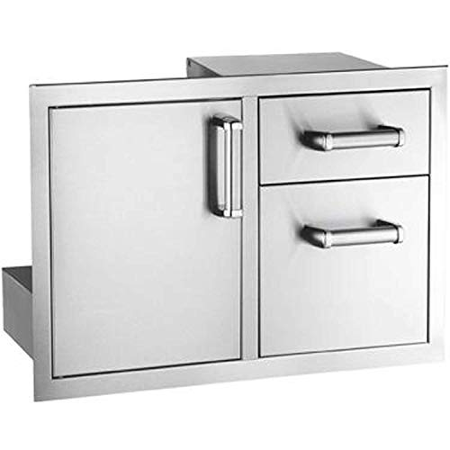 Fire Magic Premium Flush 30-inch Access Door & Double Drawer Combo With Soft Close - ()
