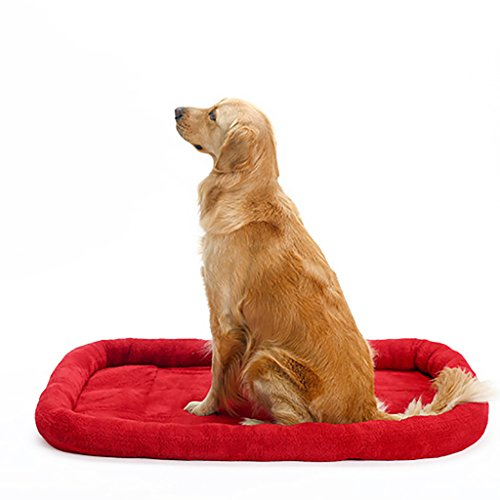 XXDP Dogs Bed Pet Bed For Cats Small Medium Large Dogs Cooling Mat Best Pet Supplies Four Seasons Universal (Color : Red, Size : (Arctic Cat Advantage)