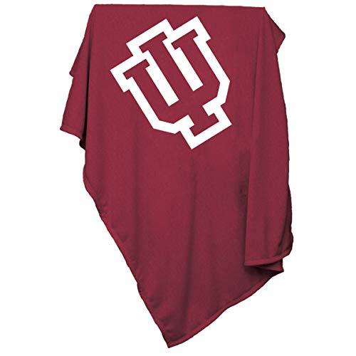 Logo Brands NCAA Indiana Hoosiers Sweatshirt Blanket ()