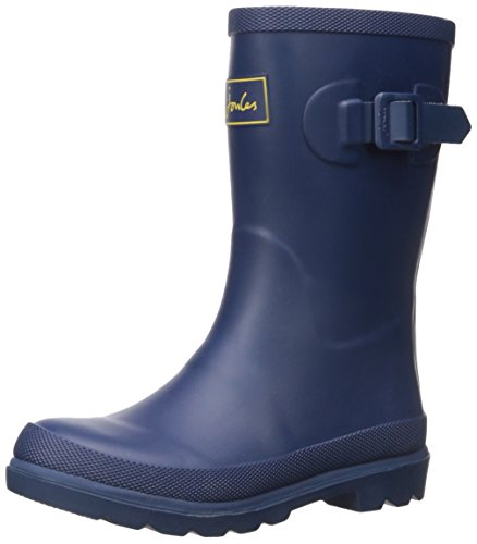 Joules Boys Field Welly Rain Boot, Navy, 10 M US Toddler