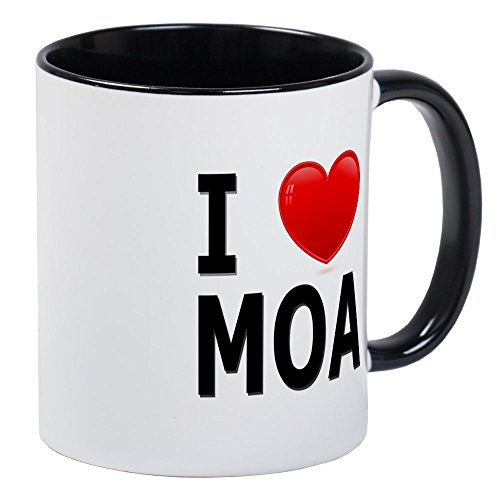 CafePress - I Love MOA Mug - Unique Coffee Mug, Coffee - Shopping Bloomington Mall
