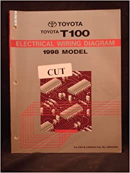 1998 toyota t100 electrical wiring diagram shop repair manual: toyota motor  co : amazon com: books