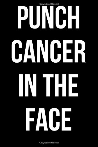 Download Punch Cancer in the Face: Blank Lined Journal PDF