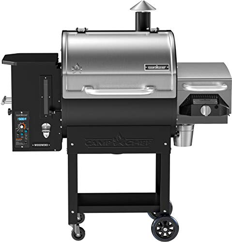 (Camp Chef Woodwind Pellet Grill with Sear Box - Smart Smoke Technology - Ash Cleanout System (Woodwind SG))