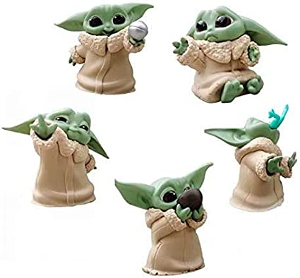 Amazon.com: Star Wars Baby Yoda Doll from The Mandalorian The Bounty  Collection The Child Collectible Toys 2.2-Inch Baby Yoda Toys for  Blanket-Wrapped Mini Figure 5-Pack: Toys & Games