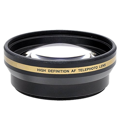 Professional 58MM Accessory Kit for Nikkor, Nikon AF-S, Canon EF, Canon EF-S, Special Editions - Includes: 58 mm Close-Up Lens Kit, 58mm Wide Angle Lens, 2.2x Telephoto Lens, Glass Filter Kit & More by Shop Smart Deals
