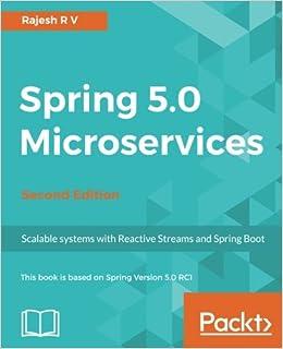 Spring 5 0 Microservices -: Amazon in: R  V  Rajesh: Books