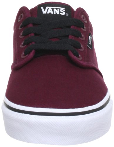 White Unisex Shoes Sneakers Atwood Red Vans Oxblood xq0wYf1z