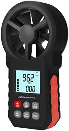 Royalr Hand Anemometer Tragbare Windgeschwindigkeit Meter Taschenlampe Temperaturanzeige CFM Meter Hintergrundbeleuchtung LCD Wind Temperatur Gauges