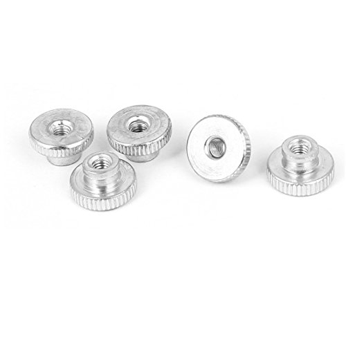 uxcell 5pcs Heating Bed Adjustment Screw Nuts M3 for Reprap Prusa 3D (Printer Hardware)