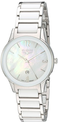 ELYSEE Women's 30020 Ladies-Edition Analog Display Quartz White Watch