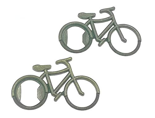 12pcs Bicycle Bottle Opener for Wedding Party Favor Souvenir Gift(Bronze Tone)