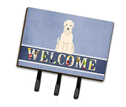 (Caroline's Treasures Soft Coated Wheaten Terrier Welcome Wall Hook Triple Multicolor)
