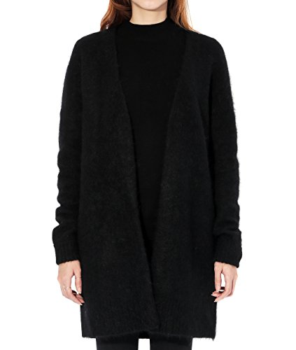 Acne Cardigan (Wiberlux Acne Raya SH Mohair Women's Thigh Length Mohair Cardigan XS Black)