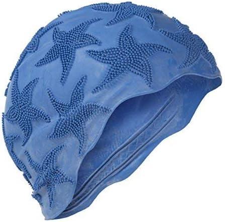 1-Size Fashy Blu Blu Cuffia per Nuoto in Silicone