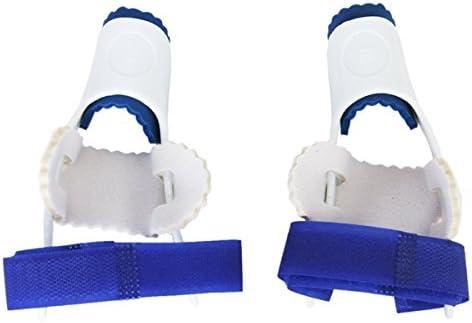Tinksky, paarweise, für große Zehen, Hallux Valgus-Korrektoren Blue Foot Care (White)