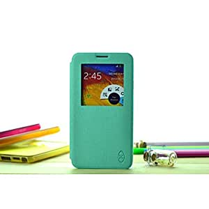 """QYF Colorful and Clean"""" Super Slim Wallet Style Case for Samsung N9000/NOTE3 (Assorted Color) , Yellow"""