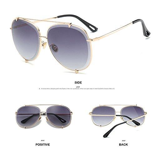 del Playa Gold La Gafas Y De Ultravioleta Sol Moda Protección Libre Al Los De De Sol De De De Recorrido De La Hombres Gafas La Sol Aire Gafas pw7HxP