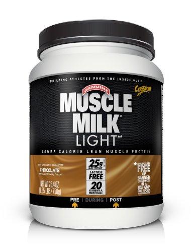 CytoSport Muscle Milk Light, Chocolate, 1.65 Pound