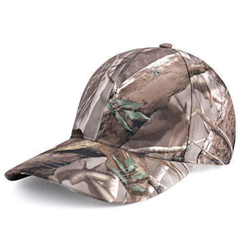 Outdoor Camo Hat Cap Hunting Realtree Camo Cap Men's Pro Hunter Cap (Realtree Cap 02)