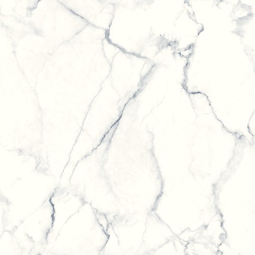 Carrara Marble Repositionable and Removable Peel and Stick