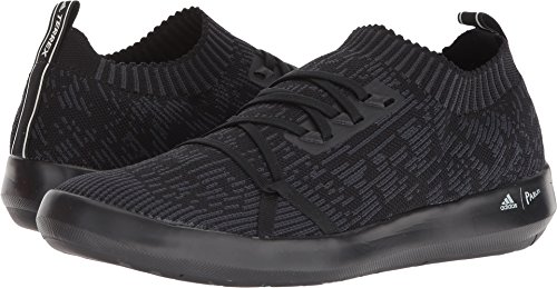 adidas outdoor Mens Terrex Boat DLX parley Shoe (10.5 - Black/Carbon/chalk by adidas outdoor