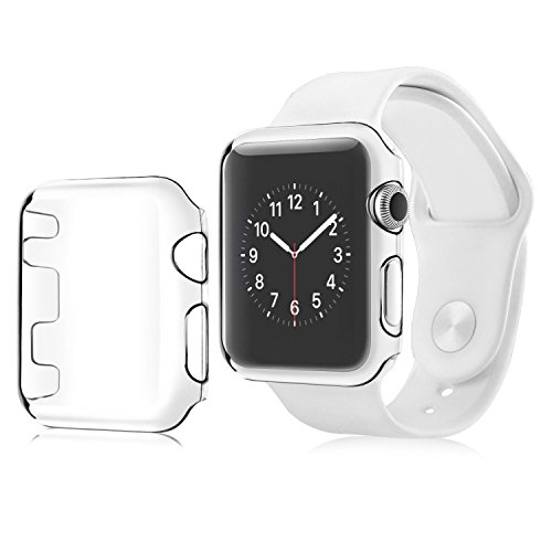 Aluminum Alloy Back Case for Apple Watch 42mm (Black) - 2