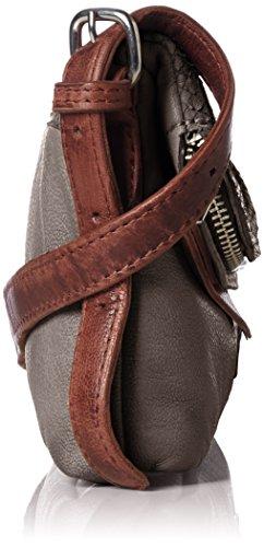 Grey Anacortes Cross City Brown Women's Handbag Street Body Liebeskind Berlin EaqzznF