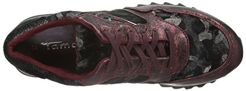 Comb Basses 23610 Tamaris Femme 550 bordeaux Rouge Baskets 7TAFqwv