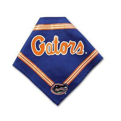 (Collegiate Florida Gators Pet Bandana, Small - Dog Bandana must-have for Birthdays, Parties, Sports Games etc..)