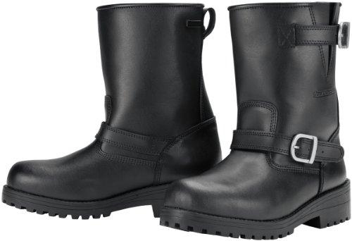 Tourmaster Men's Black Leather Vintage Waterproof 2.0 Boot (Size 10) 8604-0205-44 - Tour Master Vintage Boots