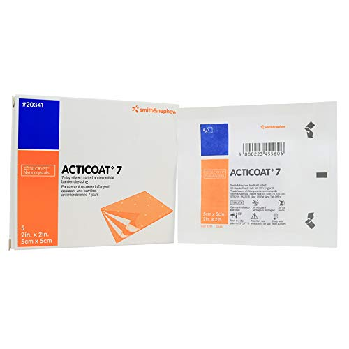 Acticoat Seven Day Antimicrobial Barrier Dressing 2