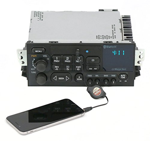 New 95-05 GMC Chevy Car Truck Van AM FM Radio Aux Input & Bluetooth CD ()
