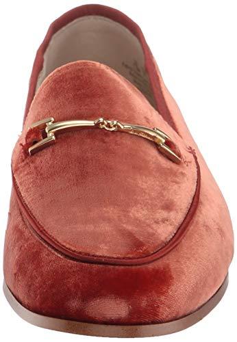 Sam Women's Velvet Loafer Edelman Paprika Loraine g6ng8Wrq