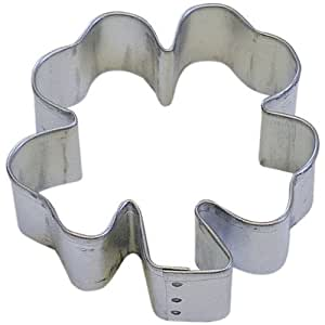 Clover Tin Cookie Cutter 2.75 B1161x by Flowers OTBP