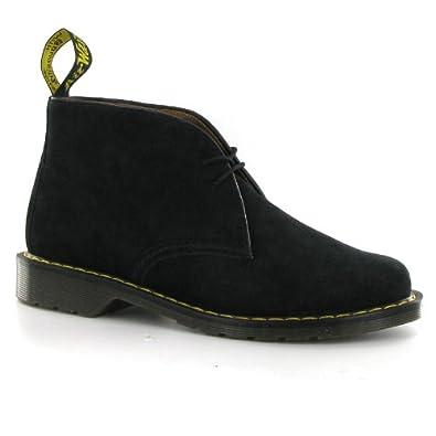 3fef8dc8784 Dr.Martens Oscar Sawyer Black Suede Mens Boots: Amazon.co.uk: Shoes ...