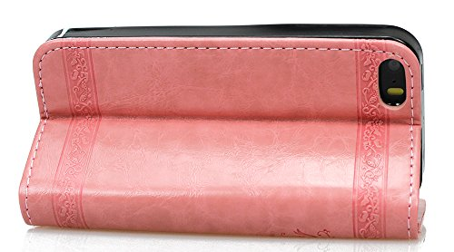 Roreikes Schutzhülle für Apple iPhone SE 5 5S , Rüstungs Series Hülle Silikon Stoßfest Case Schutzhülle für Apple iPhone SE 5 5S - Grau