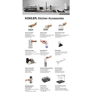 Kohler K-8624 Reset Dish Scraper,