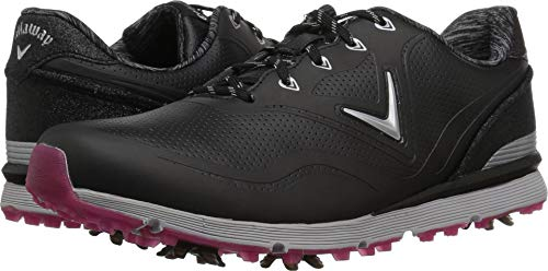 Callaway Women's Halo Golf Shoe, Black, 8.5 B B US