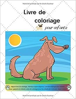 Livre De Coloriage Pour Enfants Mignon Livre De Coloriage