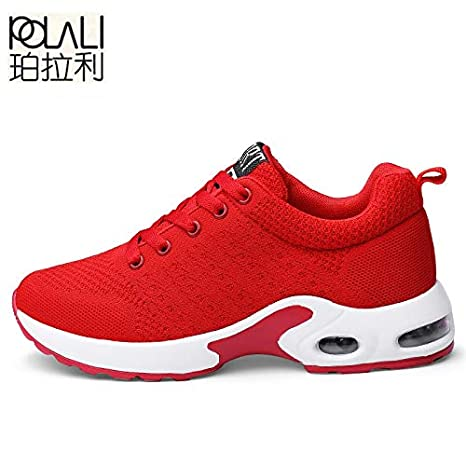 DingXiong POLALI UniSneakers Shoes Men Casual Male Krasovki Fly Weave Sneakers Trainers Zapatillas Hombre Couple Big